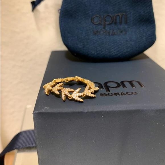 1ac5652f4 APM Monaco Jewelry - Authentic APM Monaco Yellow Silver Ring